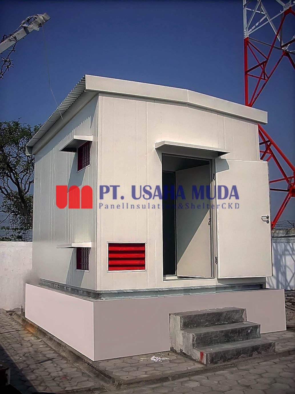 Galeri 1 Shelter CKD Telkom Flexy